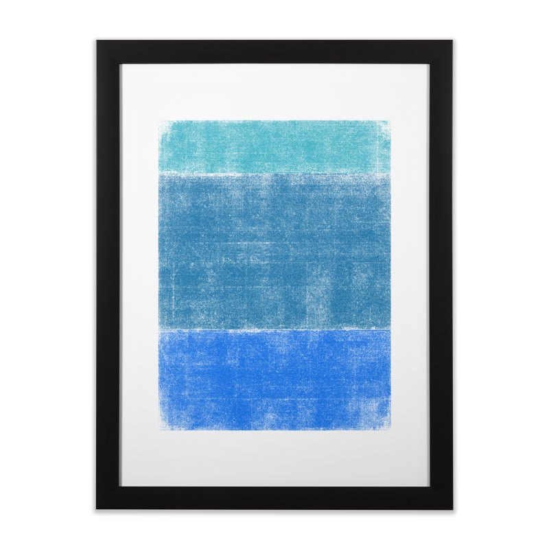 Blue Vibes Home Framed Fine Art Print by bulo