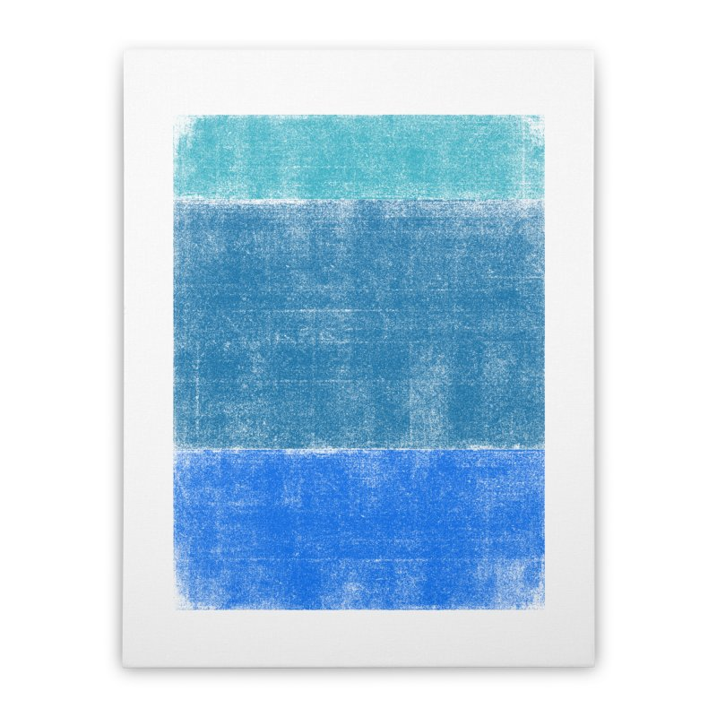 Blue Vibes Home Stretched Canvas by bulo