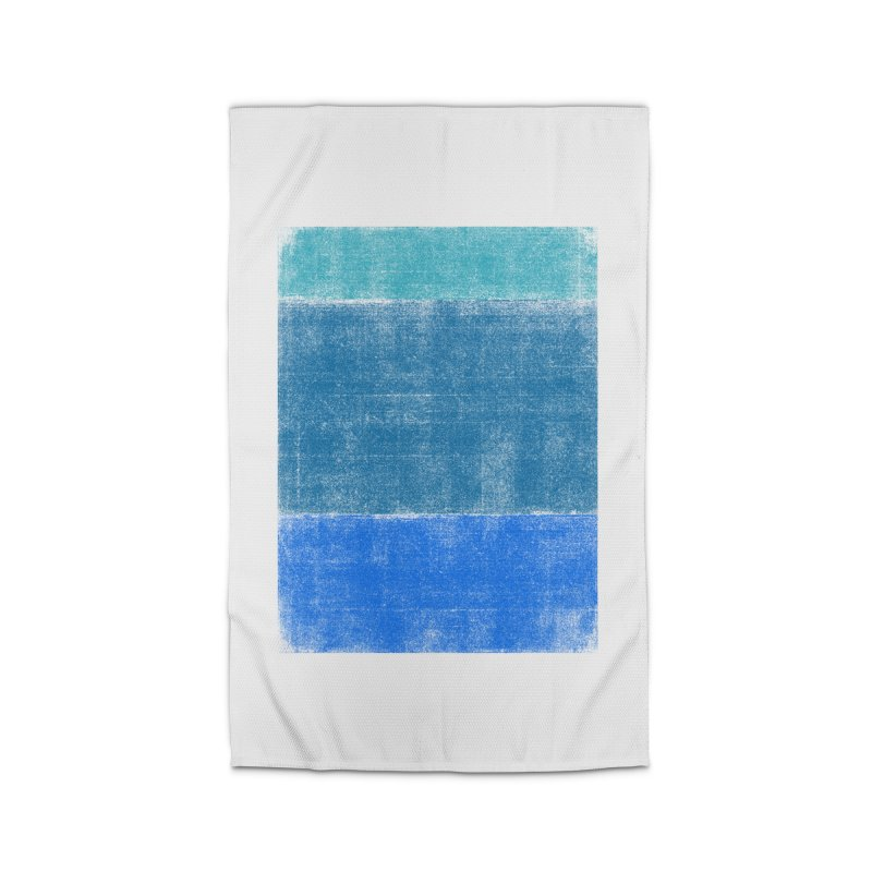 Blue Vibes Home Rug by bulo
