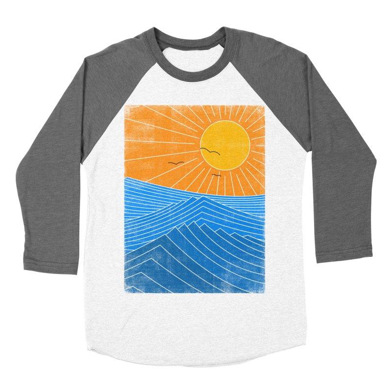 Sunny Day Men's Baseball Triblend T-Shirt by bulo