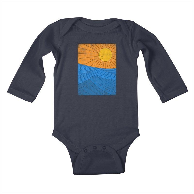 Sunny Day Kids Baby Longsleeve Bodysuit by bulo