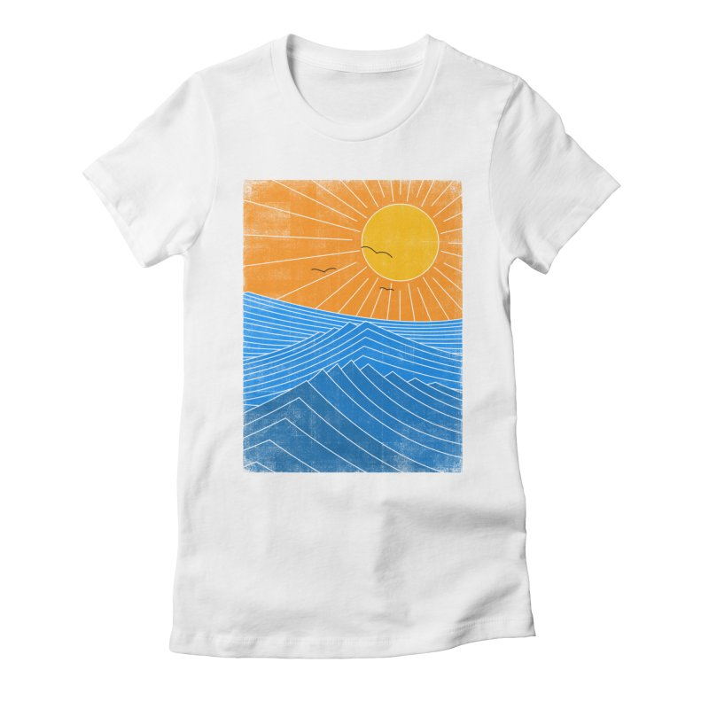 Sunny Day Women's Fitted T-Shirt by bulo