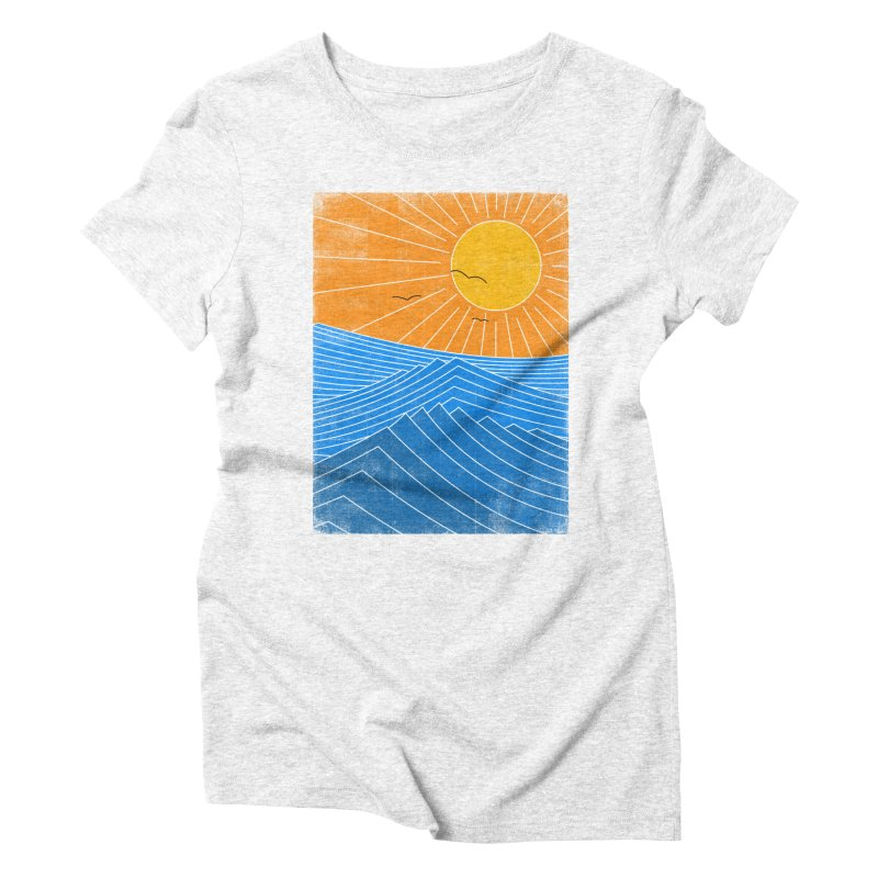 Sunny Day Women's Triblend T-shirt by bulo