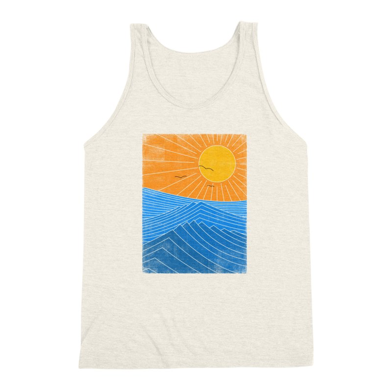 Sunny Day Men's Triblend Tank by bulo