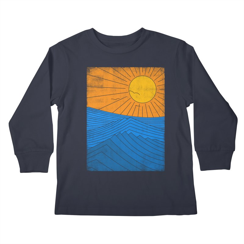 Sunny Day Kids Longsleeve T-Shirt by bulo
