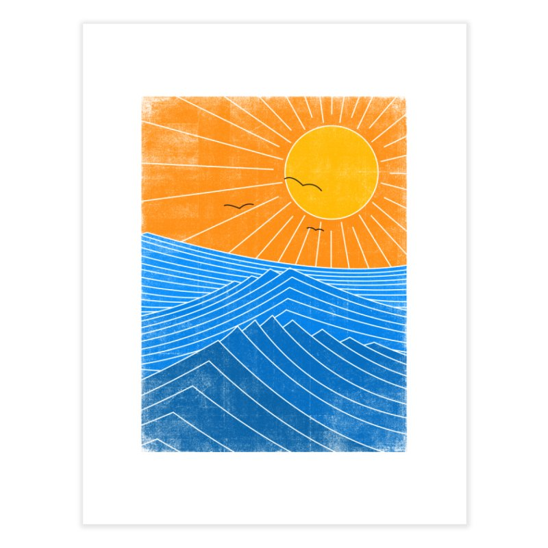 Sunny Day Home Fine Art Print by bulo