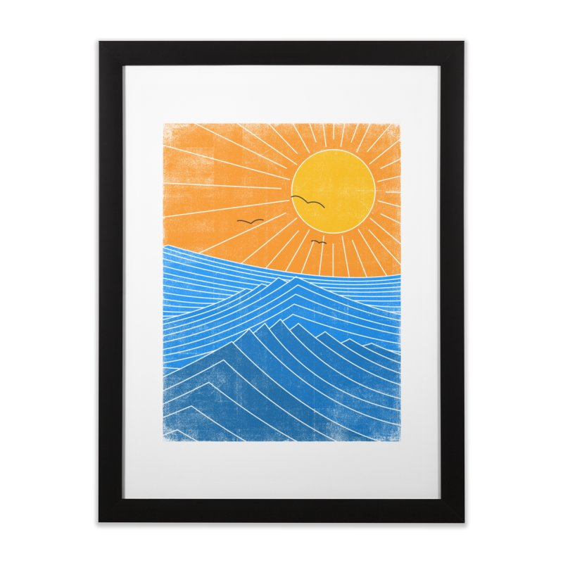 Sunny Day Home Framed Fine Art Print by bulo