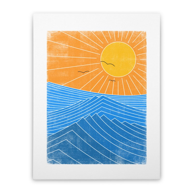Sunny Day Home Stretched Canvas by bulo