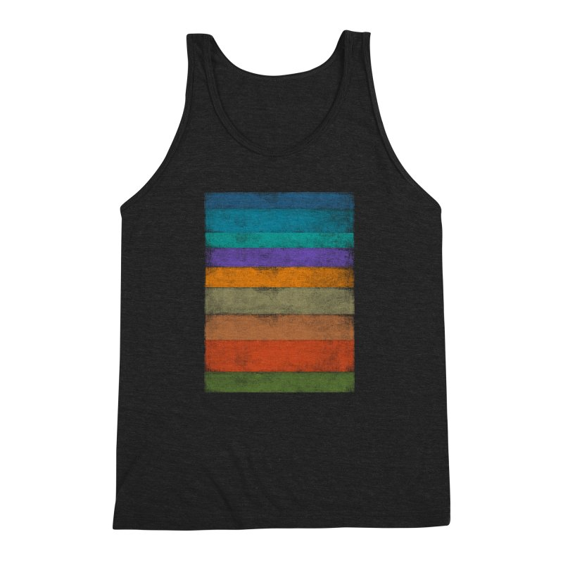 Contra Men's Triblend Tank by bulo