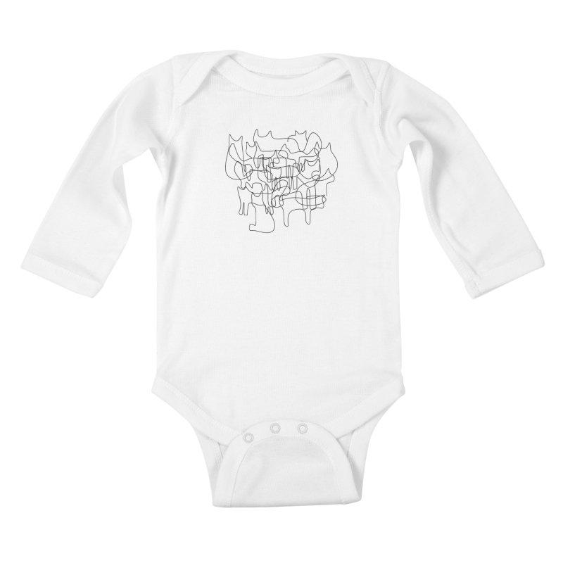 Catastrophe Kids Baby Longsleeve Bodysuit by bulo