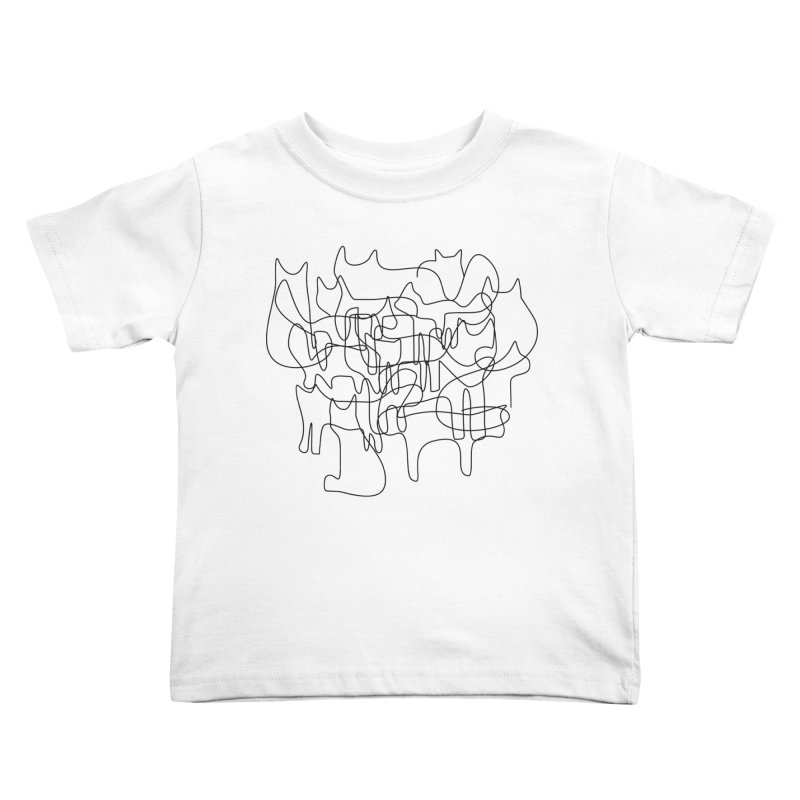 Catastrophe Kids Toddler T-Shirt by bulo