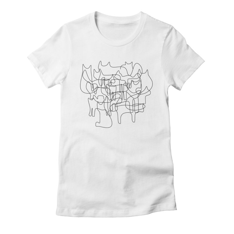 Catastrophe Women's Fitted T-Shirt by bulo