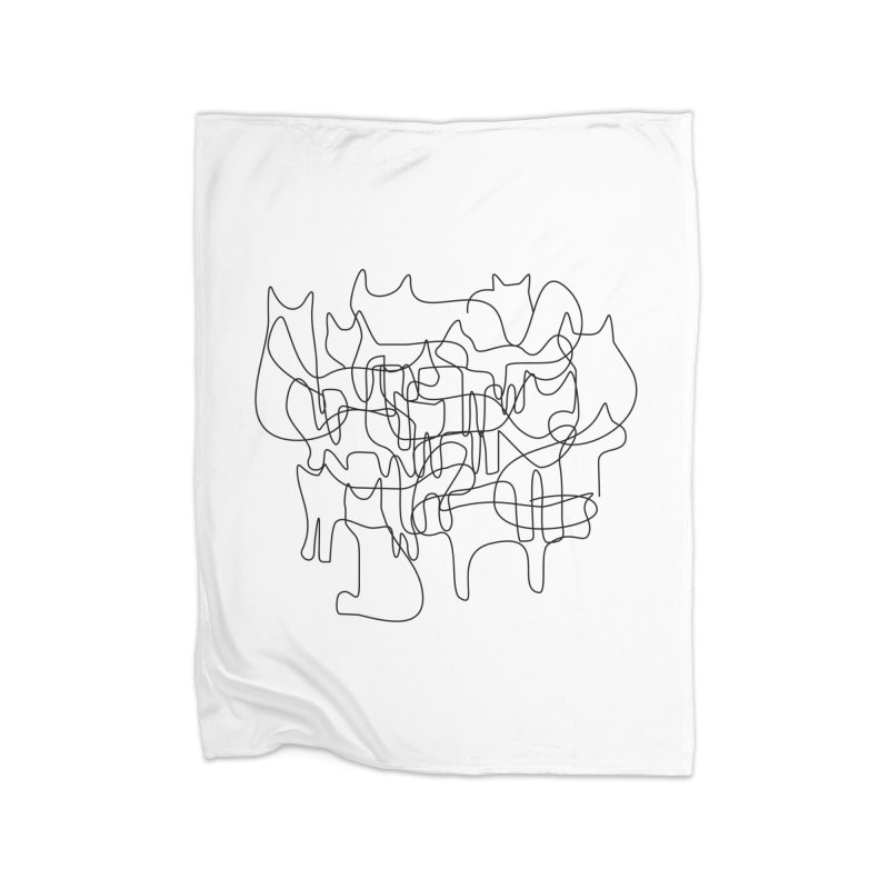 Catastrophe Home Blanket by bulo