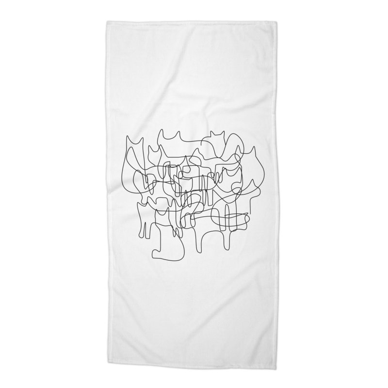 Catastrophe Accessories Beach Towel by bulo