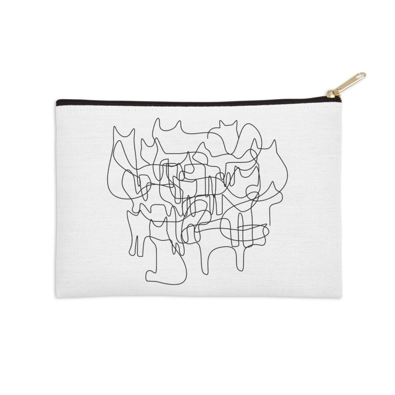 Catastrophe Accessories Zip Pouch by bulo