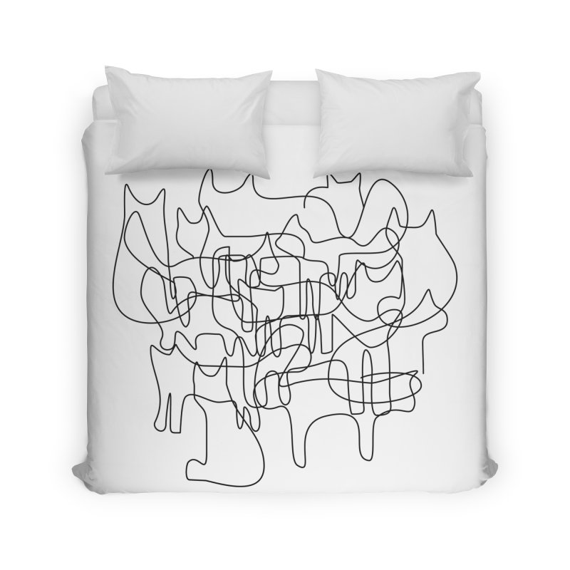 Catastrophe Home Duvet by bulo