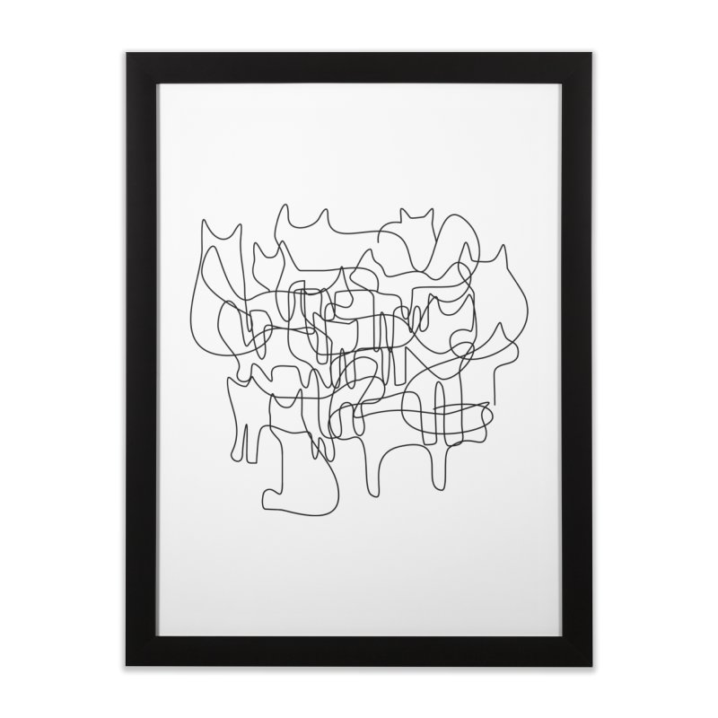 Catastrophe Home Framed Fine Art Print by bulo