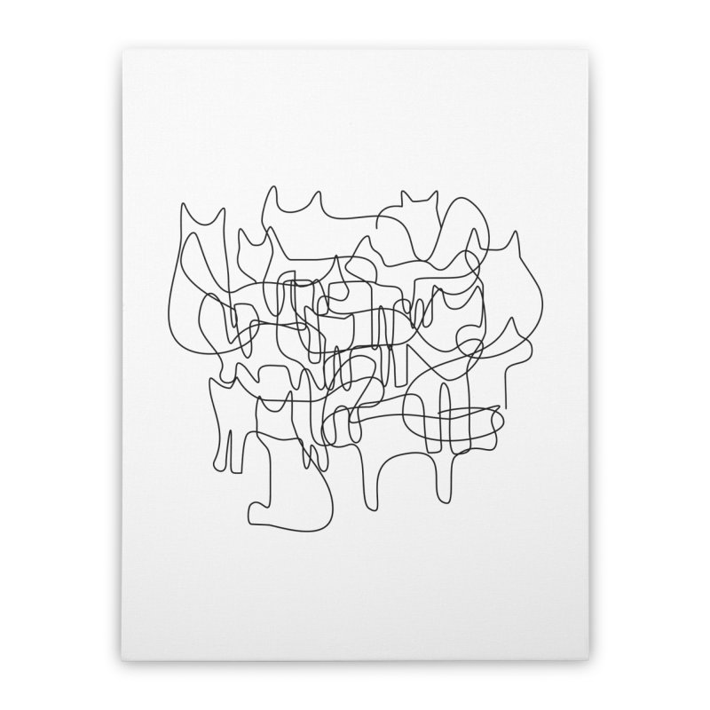 Catastrophe Home Stretched Canvas by bulo