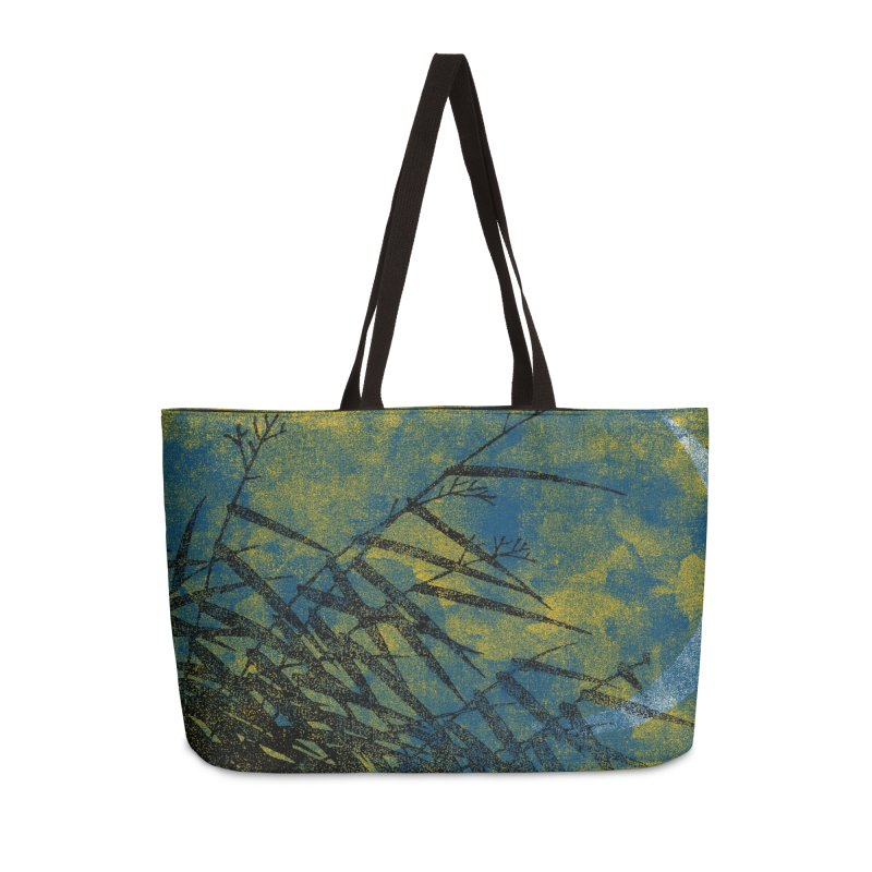 Yellow Night Accessories Bag by bulo