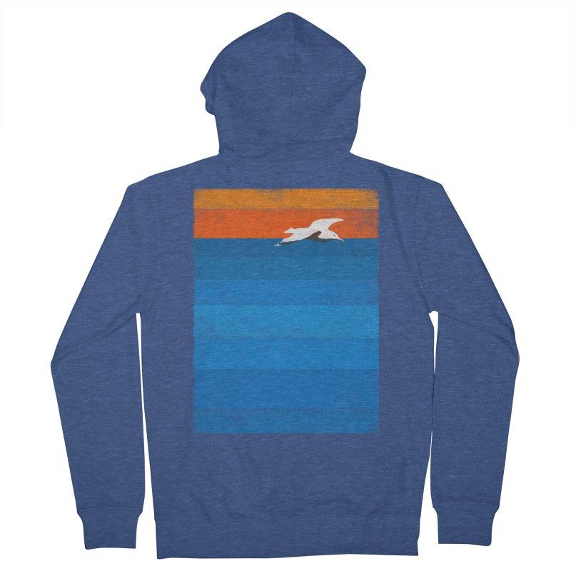 Beach Men's Zip-Up Hoody by bulo