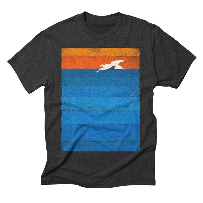 Beach Men's Triblend T-shirt by bulo