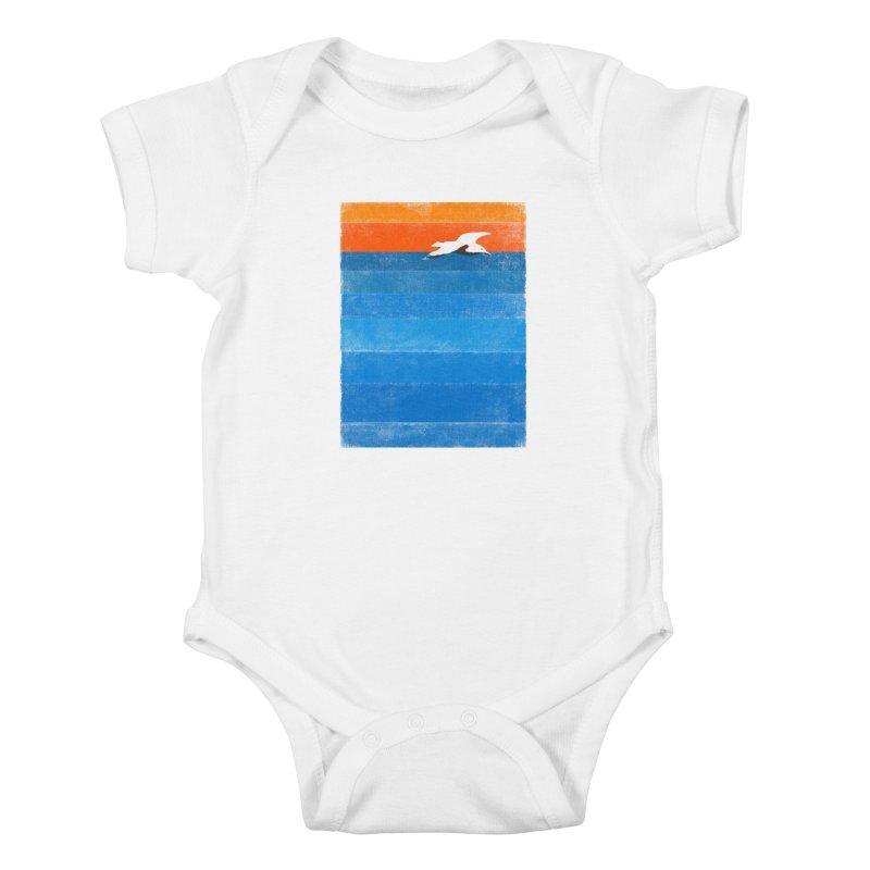 Beach Kids Baby Bodysuit by bulo
