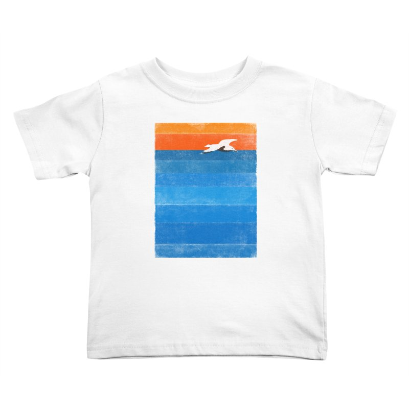 Beach Kids Toddler T-Shirt by bulo
