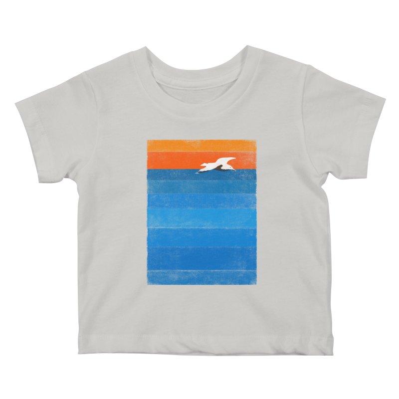 Beach Kids Baby T-Shirt by bulo