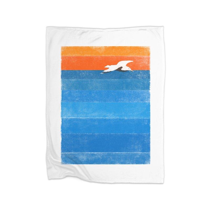 Beach Home Blanket by bulo