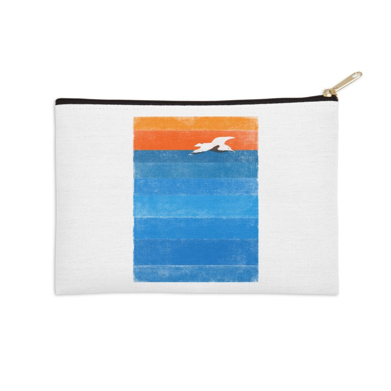 Beach Accessories Zip Pouch by bulo