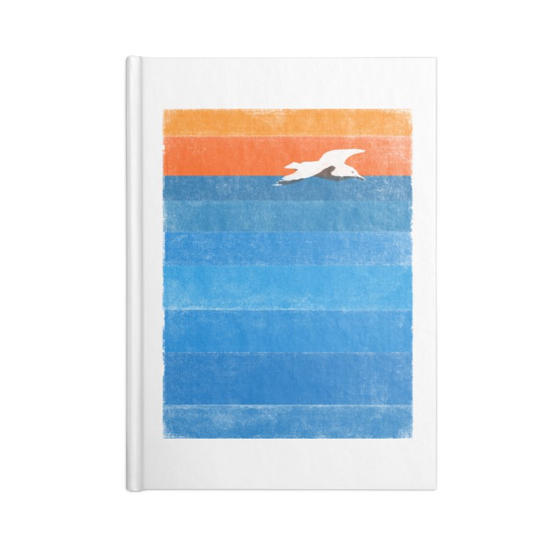 Beach Accessories Notebook by bulo