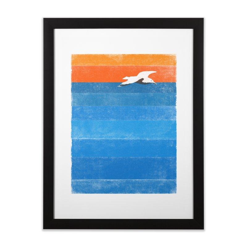 Beach Home Framed Fine Art Print by bulo
