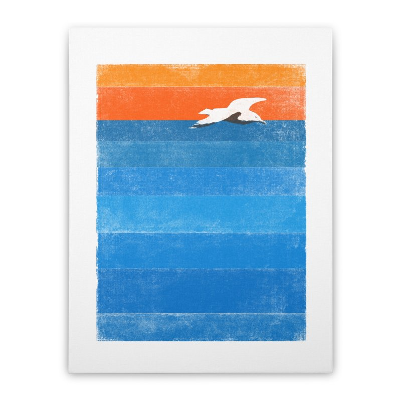 Beach Home Stretched Canvas by bulo