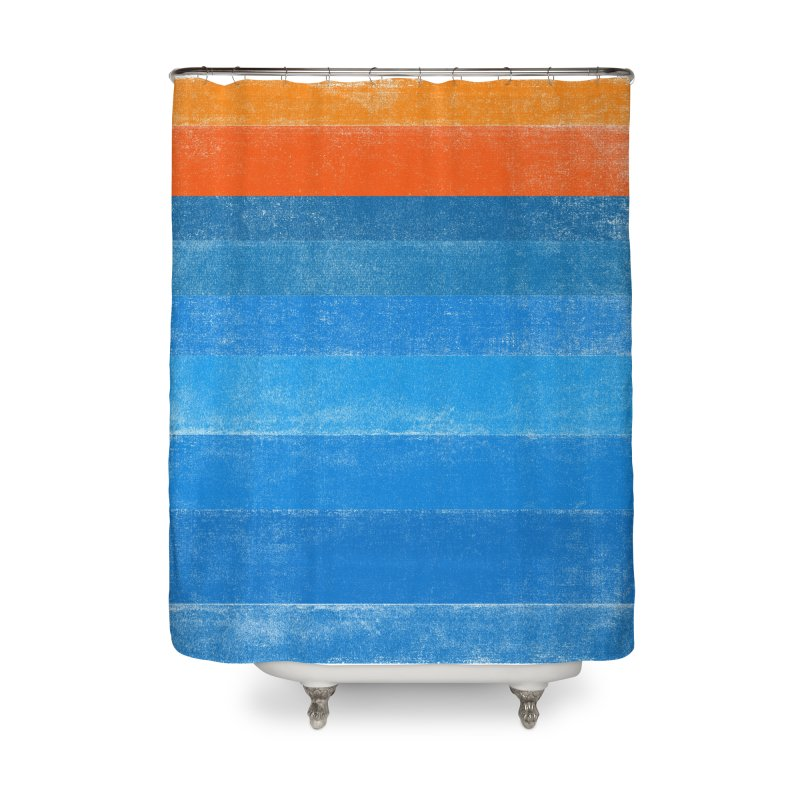 Beach Home Shower Curtain by bulo