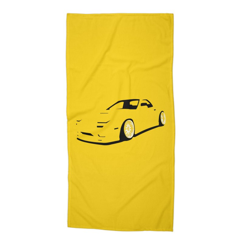 RX7 Accessories Beach Towel by bulo