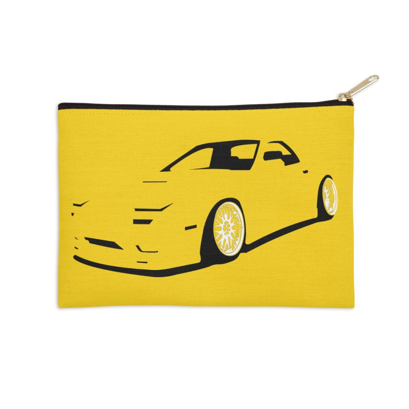 RX7 Accessories Zip Pouch by bulo