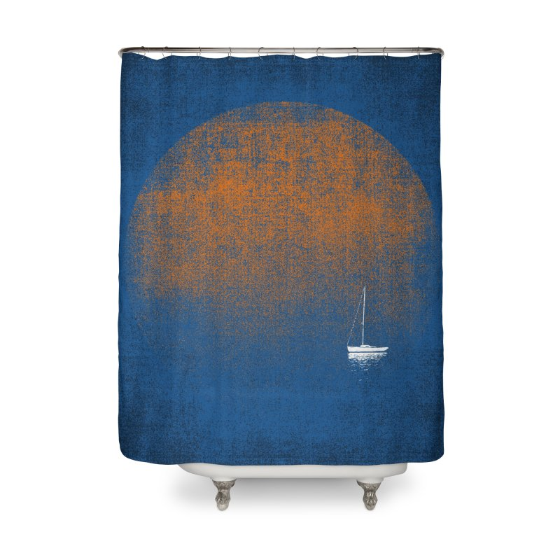 Blues Home Shower Curtain by bulo