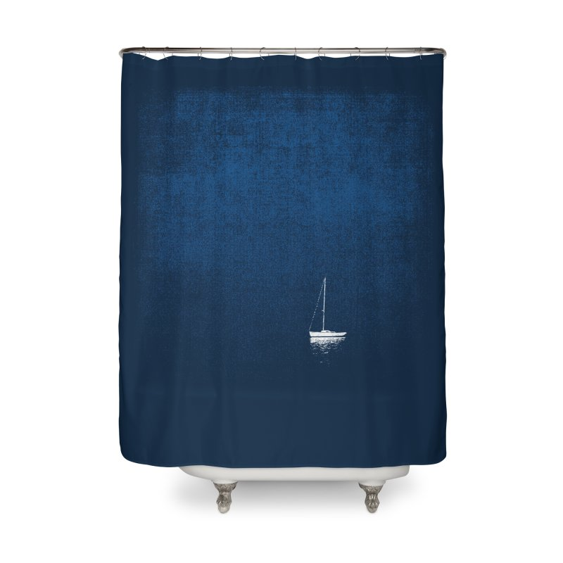 Blue Dream (shower curtain) Home Shower Curtain by bulo
