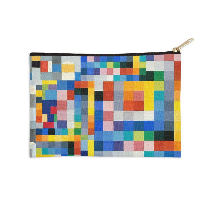 Wiegandmix (shower curtain) Accessories Zip Pouch by bulo