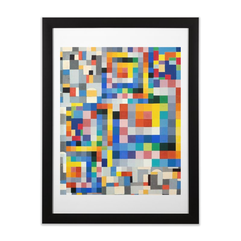 Wiegandmix (shower curtain) Home Framed Fine Art Print by bulo