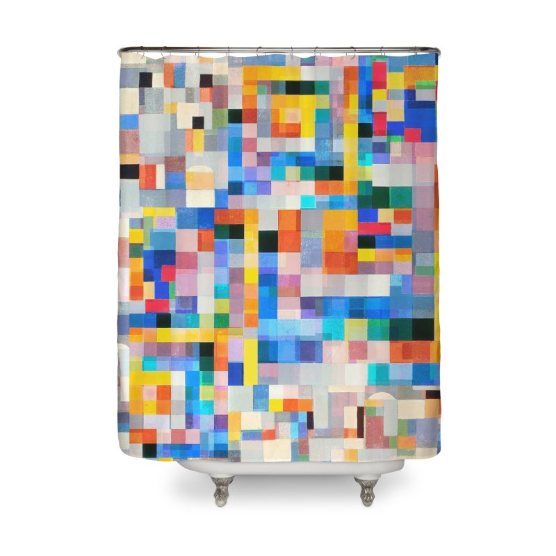 Wiegandmix (shower curtain) Home Shower Curtain by bulo