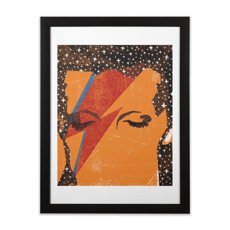 Starman Home Framed Fine Art Print by bulo