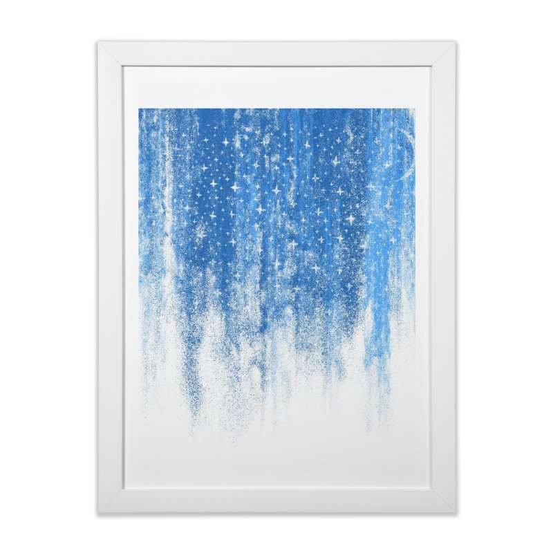 Skyfall (shower curtain) Home Framed Fine Art Print by bulo