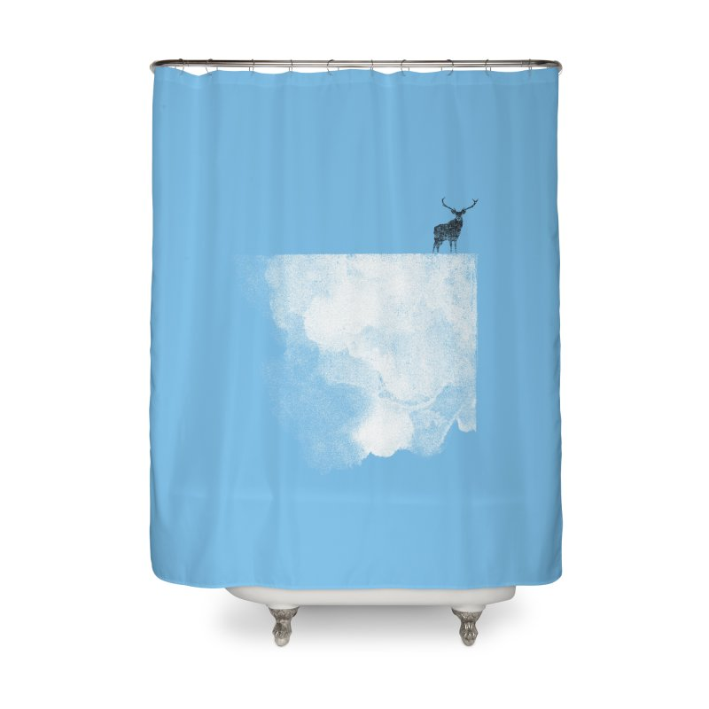 Oh Deer Home Shower Curtain by bulo