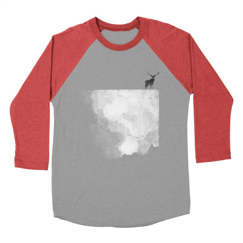 Oh Deer Women's Baseball Triblend T-Shirt by bulo
