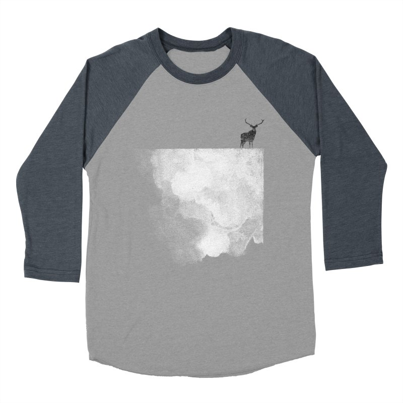 Oh Deer Men's Baseball Triblend T-Shirt by bulo