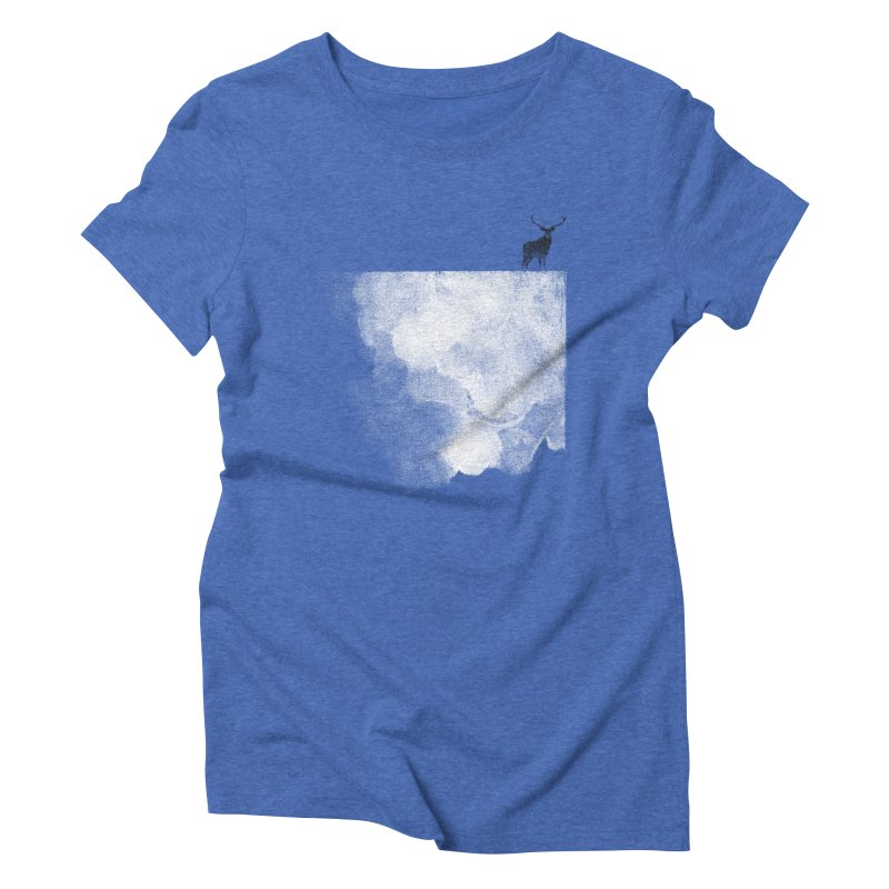 Oh Deer Women's Triblend T-shirt by bulo