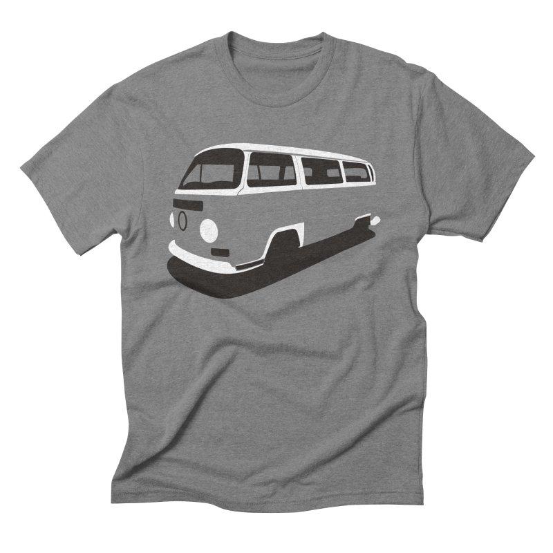 Van in Men's Triblend T-shirt Grey Triblend by bulo