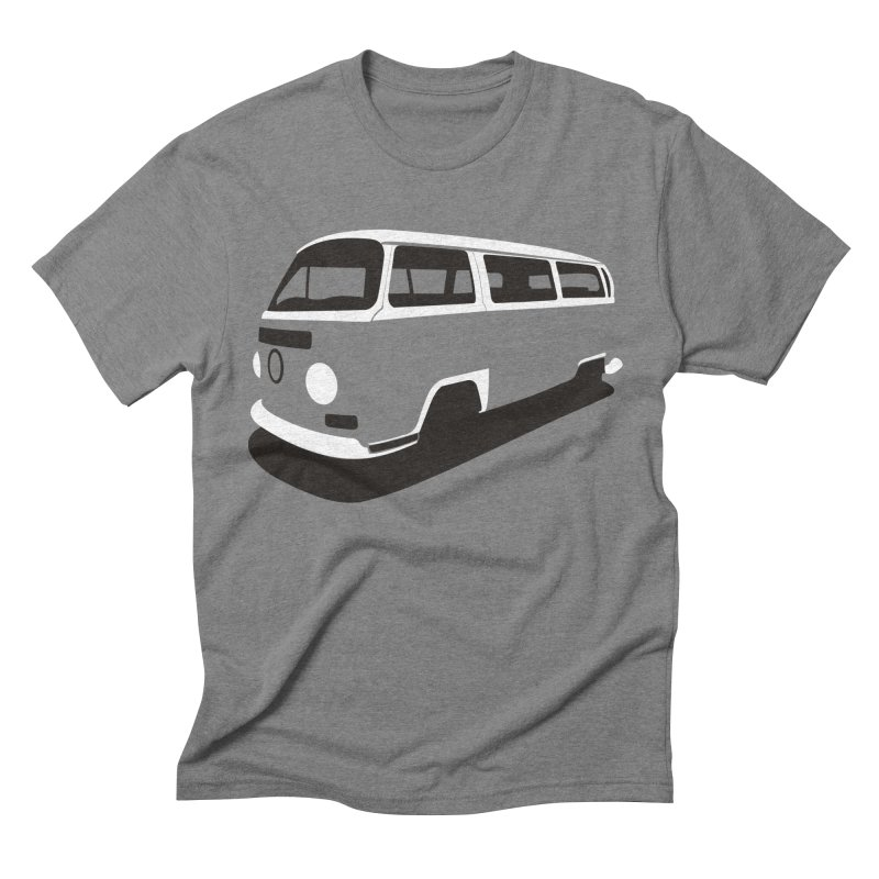 Van in Men's Triblend T-shirt Grey Triblend by bulo