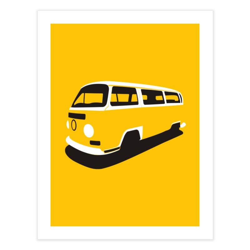 Van Home Fine Art Print by bulo